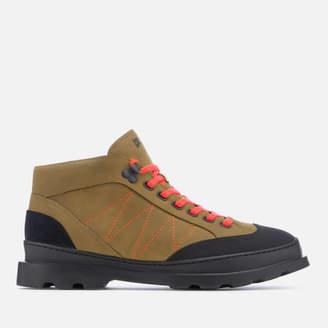 Camper Men's Brutus Hiker Style Boots - Medium Brown