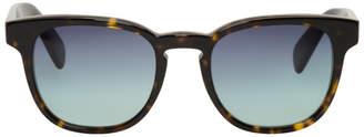 Paul Smith Tortoiseshell and Blue Hadrian Sunglasses