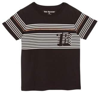 True Religion (トゥルー レリジョン) - True Religion Brand Jeans Pop Stripe T-Shirt