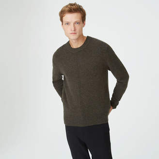 Club Monaco Front Rib Crew Sweater