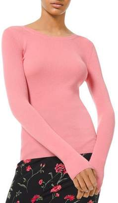 Michael Kors Cashmere Scoop-Neck Sweater