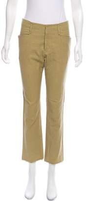 Isabel Marant Mid-Rise Straight-Leg Pants