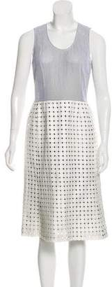 Paco Rabanne Silk Midi Dress w/ Tags