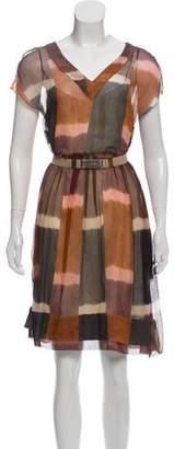 Marni Silk Printed Dress w/ Tags