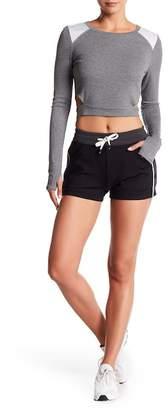 Blanc Noir Butterfly Shorts