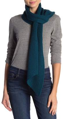 Eileen Fisher Ribbed Merino Wool Scarf