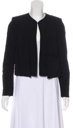 Derek Lam Structured Collarless Jacket