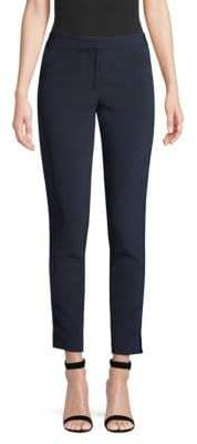 Yigal Azrouel Relaxed-Fit Velvet Tuxedo Pants
