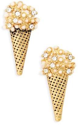 Women's Marc Jacobs Ice Cream Cone Stud Earrings $55 thestylecure.com