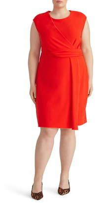 Rachel Roy Collection Asymmetrical Twist Knit Dress