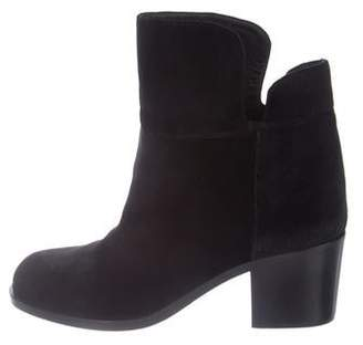 Laurence Dacade Velvet Round-Toe Boots