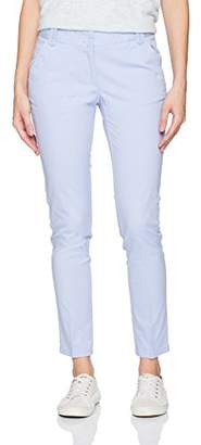 Nautica Women's Full Length Straight Leg Classic Stretch Twill Trouser