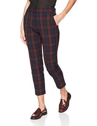 Velvet by Graham & Spencer Women's Brenley Stretch Plaid Pants
