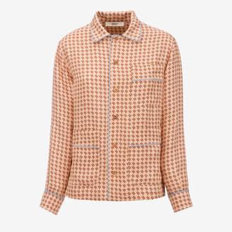 Bally B Printed Silk Pyjama Shirt