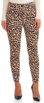 Sofia Jeans By Sofia Vergara Sofia Jeans Rosa Curvy High Waist Ankle Jean Women's (Neutral Leopard)