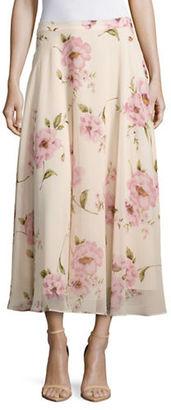 Lucy Paris Floral Midi Skirt $78 thestylecure.com