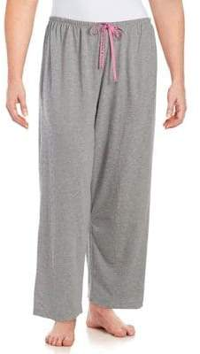 Hue Plus Mini Scribble Pajama Pants
