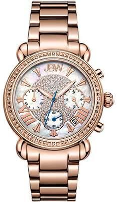 "JBW Women's JB-6210-K ""Victory"" Diamond Chronograph Watch"