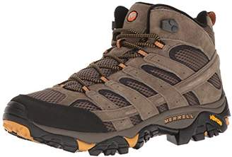 0d4775921c1f9 Merrell Men's Moab 2 Mid Vent High Rise Hiking Boots, Brown Walnut, 9 (