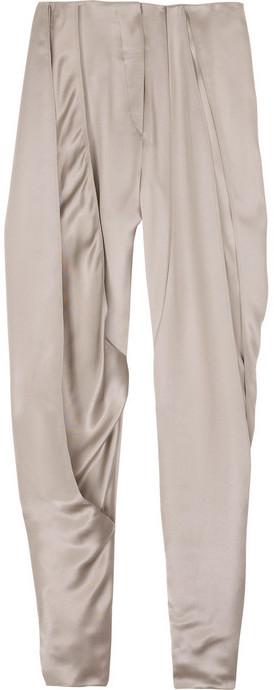 Nina Ricci Satin cropped pants