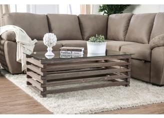 Avanti Furniture of America Industrial Gray Coffee Table