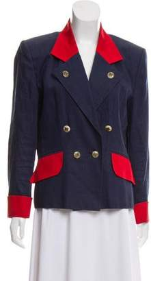 Hermès Double-Breasted Linen Blazer