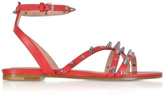 85ead7692 RED Valentino Leather Straps Women s Sandals - ShopStyle