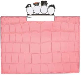 Alexander McQueen Small Four-Ring Clutch Bag