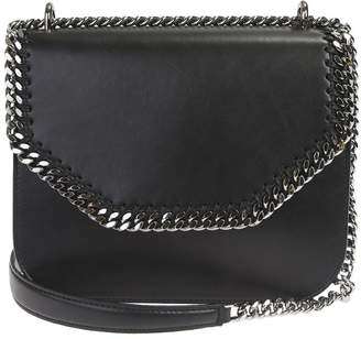 47855b8f70 Stella McCartney Black Falabella Large Box Crossbody Bag