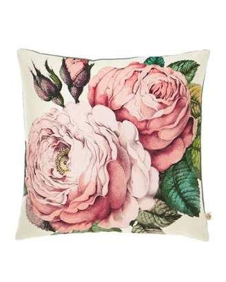 John Derian Rose Tuberose Decorative Pillow