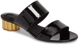 Salvatore Ferragamo Belluno Double Band Slide Sandal