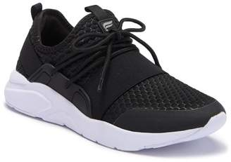 Fabletics Active Zuma Black Lace-up Sneaker