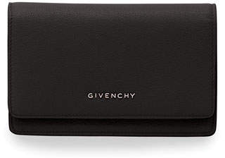 Givenchy Flap Wallet-on-Chain, Black