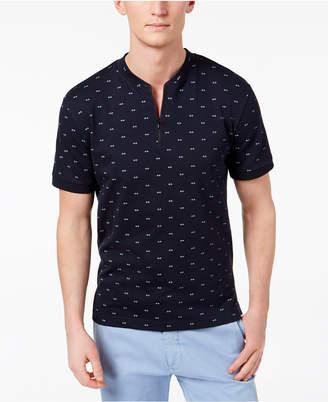 Kenneth Cole Men's Quarter Zip T-Shirt