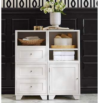 Pottery Barn Cube with 2 Drawers