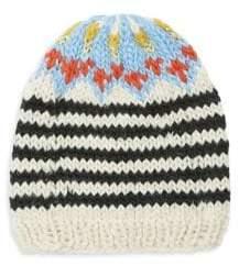 Free People Striped Knit Hat