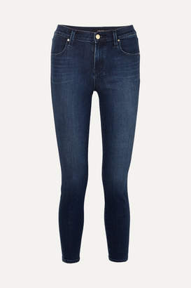 J Brand Alana Cropped High-rise Skinny Jeans - Mid denim