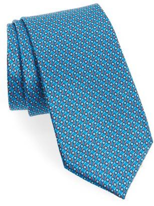 Men's Canali Micro Print Silk Tie $160 thestylecure.com