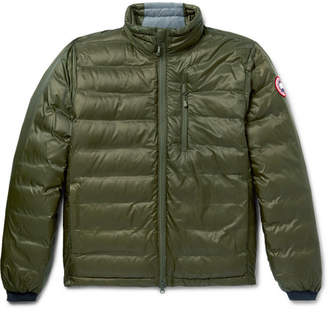 Canada Goose Lodge Packable Quilted Ripstop Shell Down Jacket - Green