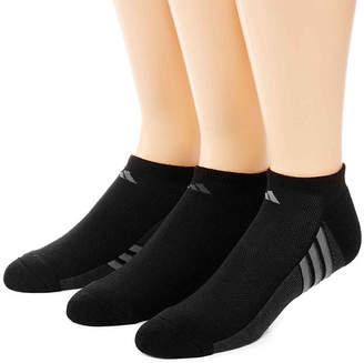 adidas 3-pk. Mens climacool Superlite No Show Socks - Extended Size