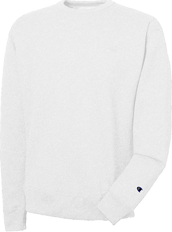 Champion Long-Sleeve Powerblend Fleece Crew Sweatshirt