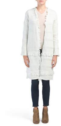 Textured Sweater Cardigan