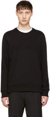 Neil Barrett Black neilbarrett Sweatshirt