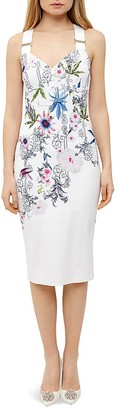 Ted Baker Passion Flower Sheath Dress $279 thestylecure.com
