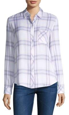 Rails Lavender Hunter Plaid Shirt
