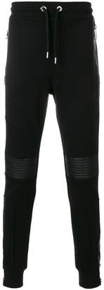 Les Hommes ribbed panel track pants