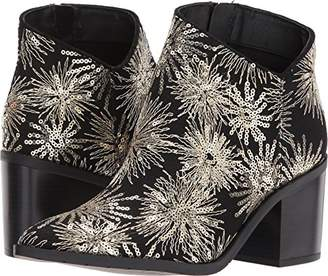 Kenneth Cole Reaction Women's Cue The Music Bootie Ankle Notch Western Style Stars