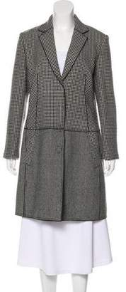 HUGO BOSS Boss by Wool Houndstooth Coat