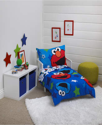 Sesame Street 4-Piece Toddler Bedding Set Bedding