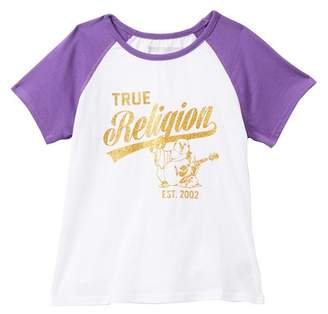 True Religion Raglan Tee (Big Girls)